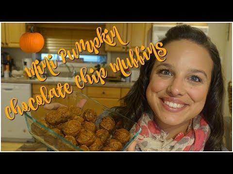 Small Pumpkin Muffins