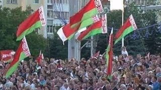 В Минске прошёл военный парад (новости) http://9kommentariev.ru/(http://www.epochtimes.ru В четверг в Минске прошёл грандиозный военный парад с участием почти четырёх тысяч военнослу..., 2014-07-04T10:44:21.000Z)
