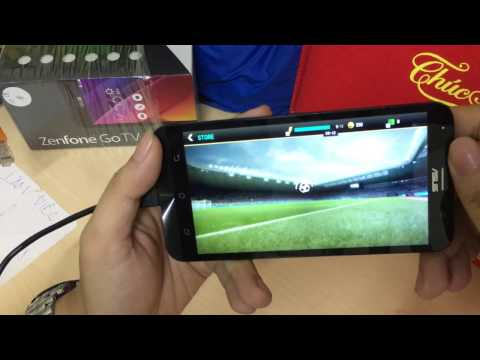 BacBa - Test game trên Zenfone Go TV