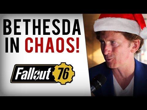 Bethesda's Fallout 76 Troubles Continue - Unfair Bans, Holiday Scam, Sales Leak & Nuka Bottle Mess! thumbnail