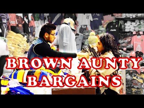 Brown Aunty Bargains