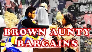 Brown Aunty Bargains