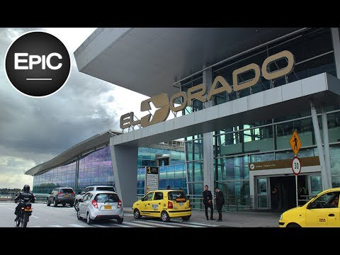 Aeropuerto Internacional El Dorado / El Dorado International Airport - Bogotá, Colombia (HD)