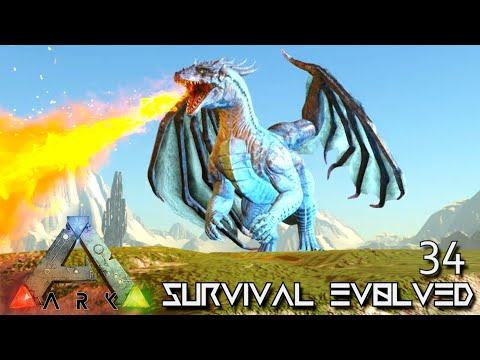 ARK: SURVIVAL EVOLVED - THE PERFECT DRAGON !!! VALGUERO ARCHAIC ASCENSION PYRIA E34