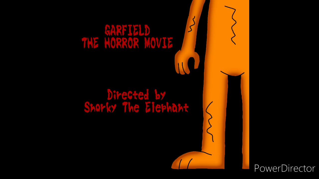 Garfield The Horror Movie End Credits Song Directed By Snorky The Elephant Youtube