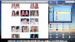 Télécharger coiffure vêtements et accessoire sur les sims 3 !