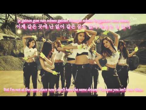 Girls' Generation - Catch Me If You Can Lyrics [Rom/Han/Eng] (Korean Version)