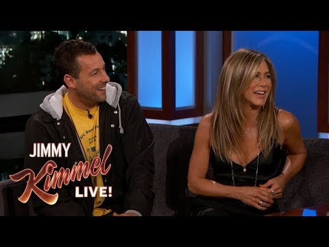 Jennifer Aniston & Adam Sandler on Friendship, Adam Levine & Emergency Landing