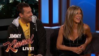 Download Jennifer Aniston & Adam Sandler on Friendship, Adam Levine & Emergency Landing Mp3 and Videos