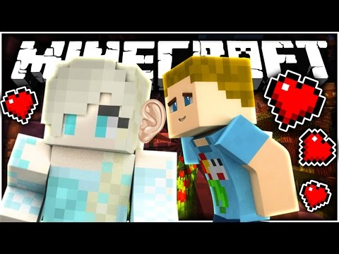 Minecraft: KISSING ELSA FROM FROZENS EARS!!