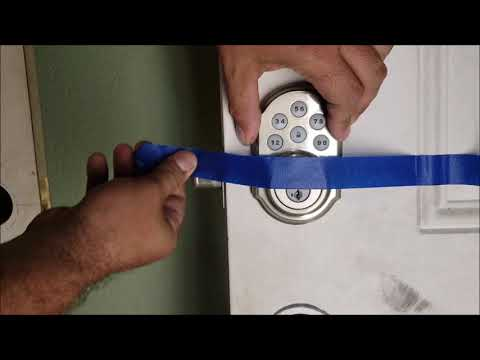 KWIKSET smart code 909 install, review, programming, and RE-KEY do it yourself DIY