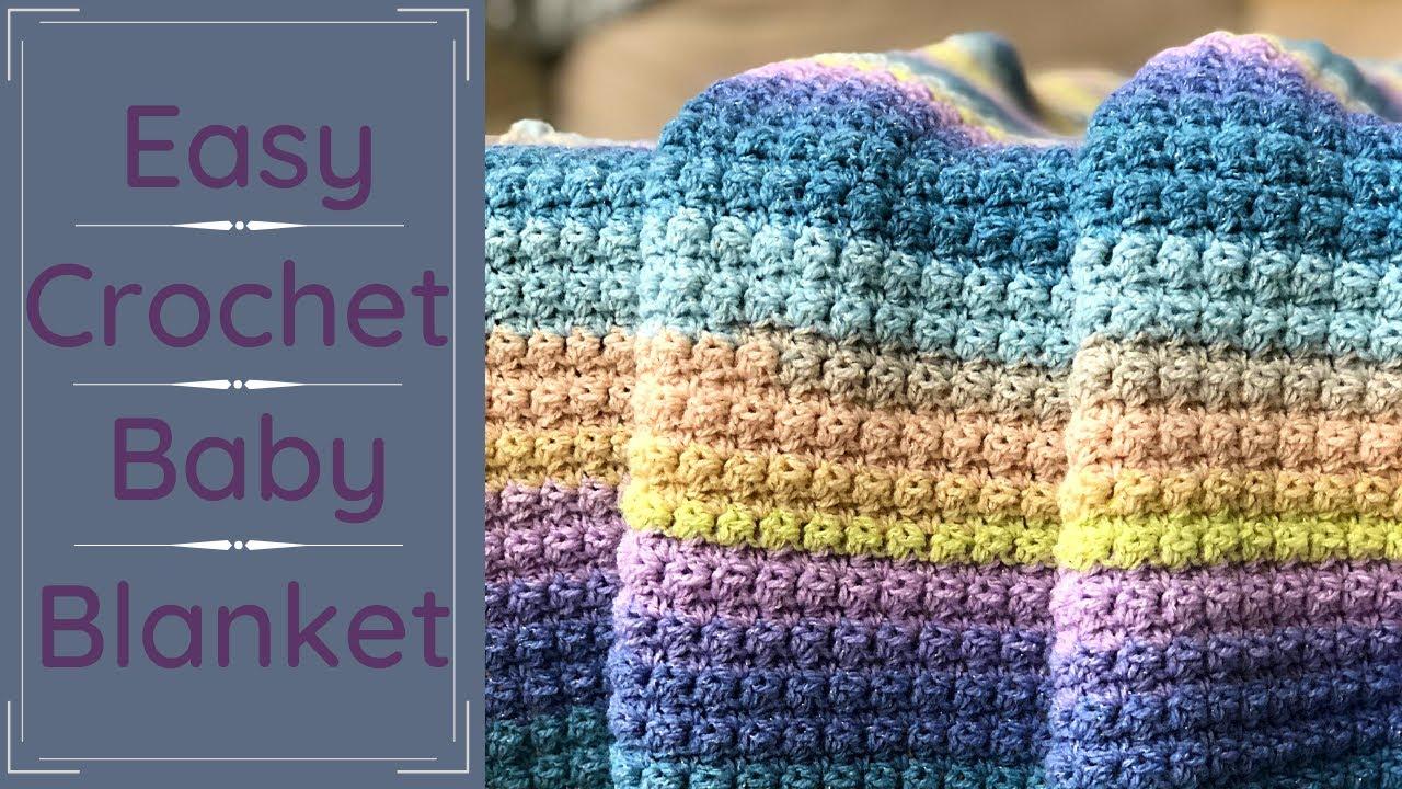 EASY Baby Blanket For Absolute Beginners The Essentials Baby Blanket    Sleep Baby