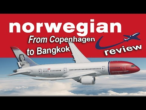 Norwegian Air Premium Class review - from Copenhagen to Bangkok