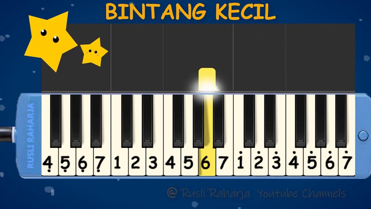 Bintang Kecil Not Pianika