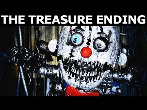 Baby's Nightmare Circus - The Treasure Ending (No Commentary) (FNAF Horror Game 2017)