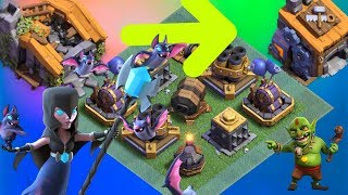 Gemming BH1 To BH8 In Just 10 Min Clash Of Clans Builder Hall 1 To Builder Hall 8 Max Gameplay