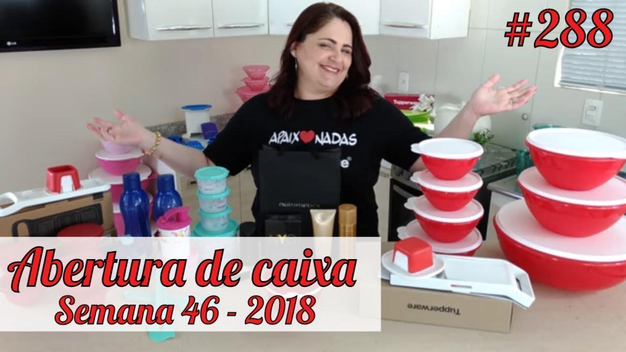 Abertura De Caixa Tupperware Semana 46 2018 Youtube