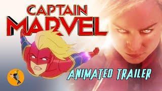 Captain Marvel Animated Trailer (Marvel Studios)