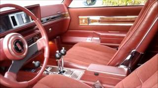 1984 Hurst/Olds to some great beats