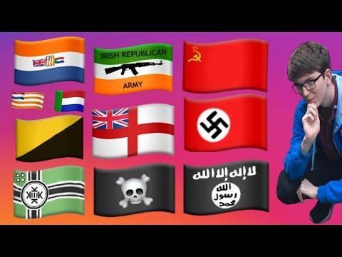 CREATING NEW EMOJI FLAGS?! (Timelapse)