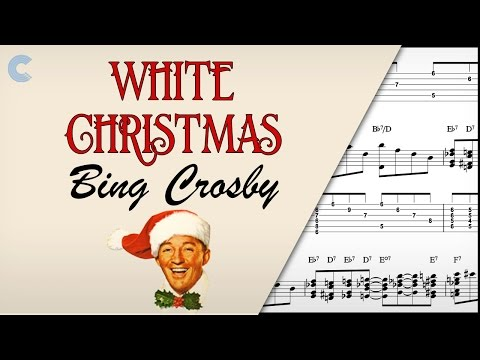 Piano - White Christmas - Bing Crosby - Sheet Music, Chords, & Vocals