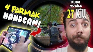 4 PARMAK KİLL REKORUM! HANDCAM - PUBG Mobile (Gameplay Türkçe)