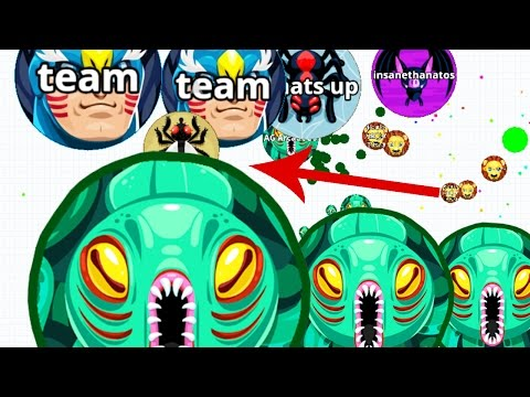 Agar.io From Solo To Team Destruction Agario Best Moments!