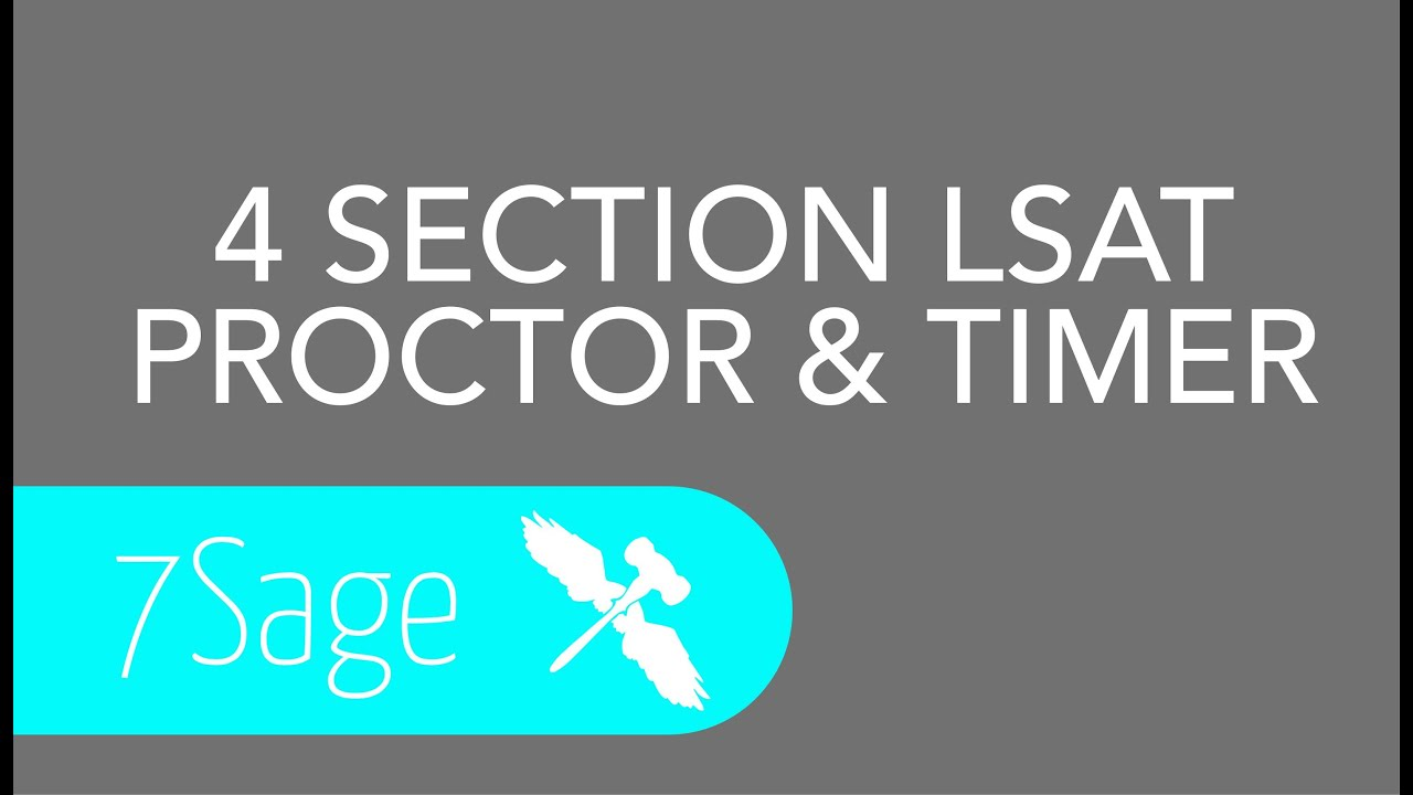Lsat proctor timer for 4 section lsats youtube lsat proctor timer for 4 section lsats malvernweather Image collections