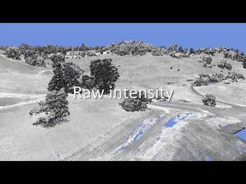 Petaluma Lidar quick demo