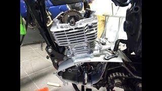 Oprava motoru * Yuki 125 SM * Suzuki 125 GN GS GZ TU