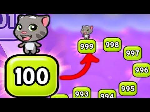 Видео: Говорящий котик ТОМ выпил много зелий маленький котенок веслый мультик для детей УШАСТИК KIDS