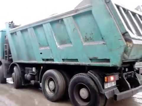 Доставка песка щебня Киев и область.