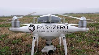 Drone Parachute Drop Test With ParaZero SafeAir Phantom