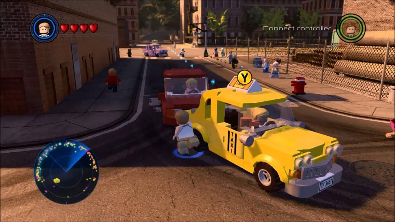 LEGO Marvel's Avengers Story - Manhattan Interlude - YouTube