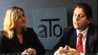 Cadastro de crédito. Apresentado por Cristiano Schmitt e Roberta Stefani. POA TV Canal 6 da NET. Porto Alegre.