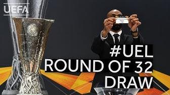 2019/20 UEFA Europa League Round of 32 Draw
