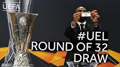 2019/20 UEFA Europa League Round of 32 Draw