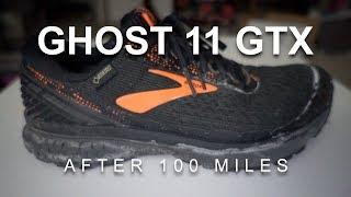 Ghost 11 GTX - After 100 Miles