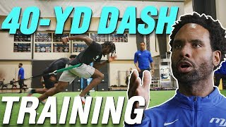 How NFL Prospects Train for the 40-yard Dash