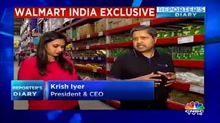 Walmart India to Open 50 Best Price Stores in Four Years, Says CEO Krish Iyer | CNBC TV18