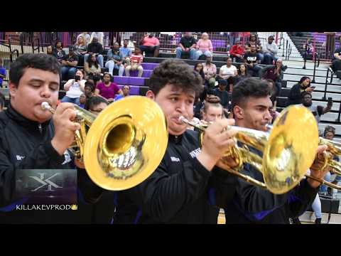 Hunters Lane High School Marching Band - Call Him Up - 2018