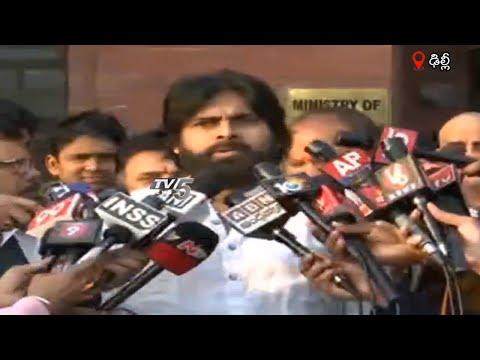 Pawan Kalyan Delhi LIVE   Janasena BJP Meeting   PM Modi   Nirmala Sitharaman   TV5 News teluguvoice