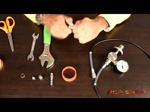 How To Attach Female Foster To Hose End Of Scuba Fill Kit