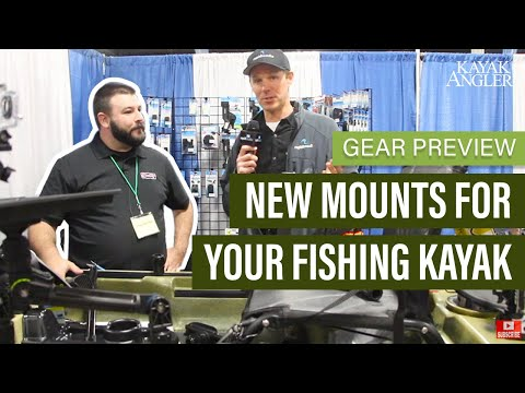 New Mounts For Your Fishing Kayak | Scotty Mounts | Gear Preview