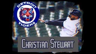 Christian Stewart 2019 Detroit Tigers highlights, feat-