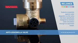Anti Legionella Valve - Product Spotlight - Reliance UK