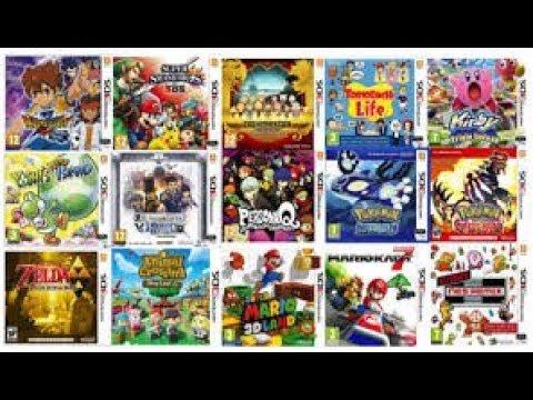 Los Mejores Juegos Para 3ds Youtube