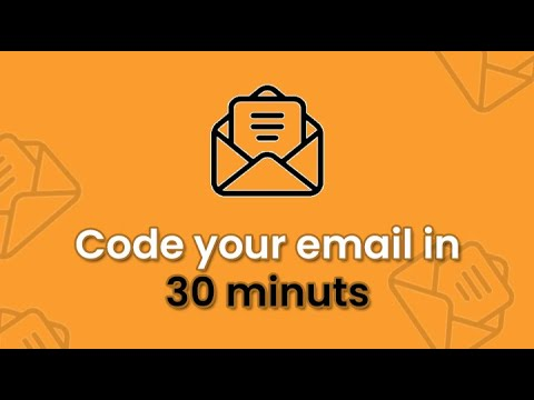 Create A  Responsive HTML Email In 30 Minutes | Email Template In Html | Yuvraj Academy
