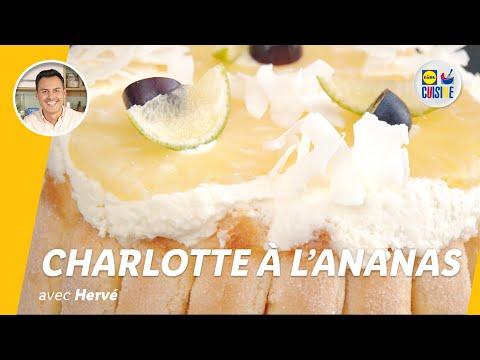 charlotte-à-l'ananas-|-lidl-cuisine