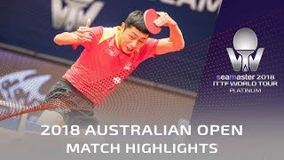 Xu Xin vs Jin Ueda | 2018 Australian Open Highlights (R16)